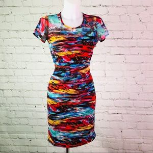 Multicolored Joseph Ribkoff Bodycon Dress NSF